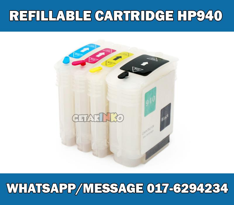 REFILLABLE CARTRIDGE HP 940 AUTO RESET CHIP