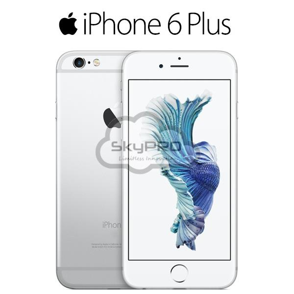 Refurbished Apple Iphone 6 Plus 64gb Silver [With FINGERPRINT]