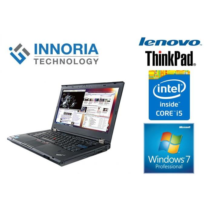"(Refurbished Notebook)LENOVO THINKPAD T430 LAPTOP / i5-3320M / 14"" LCD"