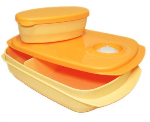 Reheatable Divided Lunch Box (1) 850ml