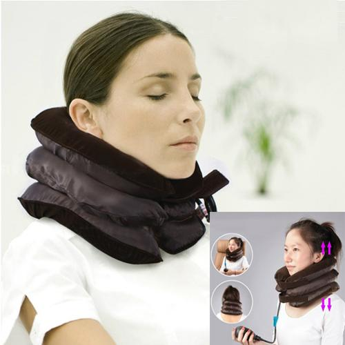 RELAXING NECK TRACTION SUPPORT Air Pillow Head Neck Pain TIRED WEARY
