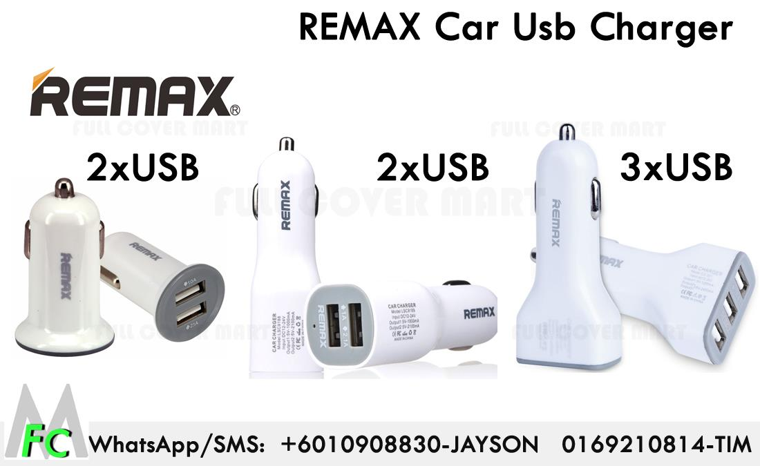 Remax 2.1A 3.6A Double 2 3 USB Car Charger Adapter
