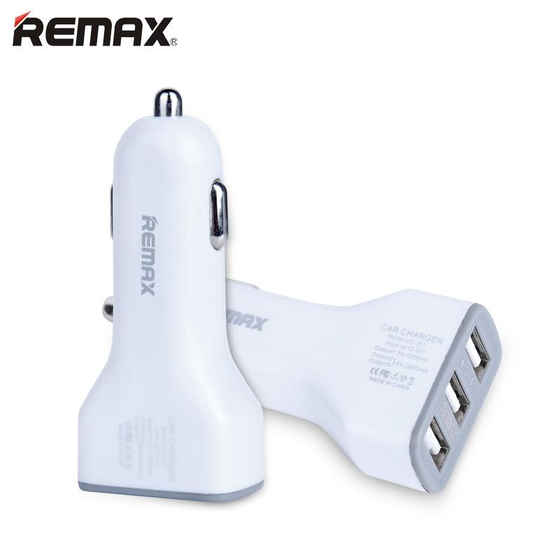 Remax 3.6A 3 ports port USB Car Charger Apple Samsung Oppo Vivo Huawei