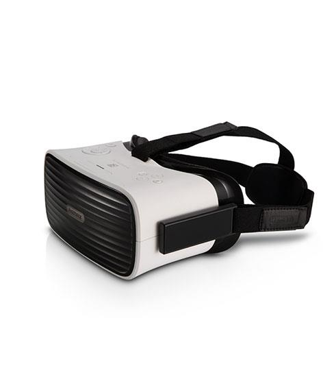 Remax 3D VR Glasses (All-In-One Phantom) - WHITE