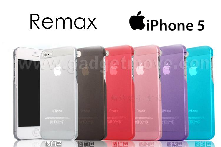 Remax Bingoo iPhone 5S SE Extreme Slim Smart Back Cover Case