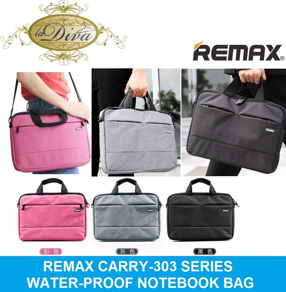 REMAX CARRY-303 WATERPROOF PREMIUM NOTEBOOK SINGLE SHOULDER BAG