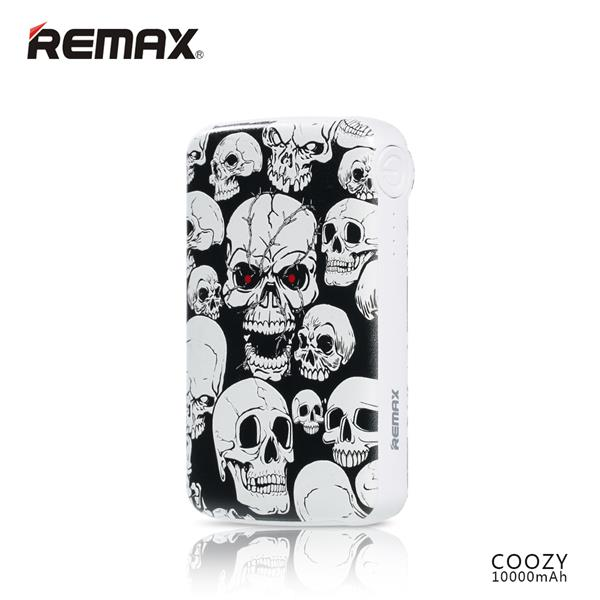 Remax Coozy 10000mah Dual Ports Powerbank CZ003 Graffiti Art Design
