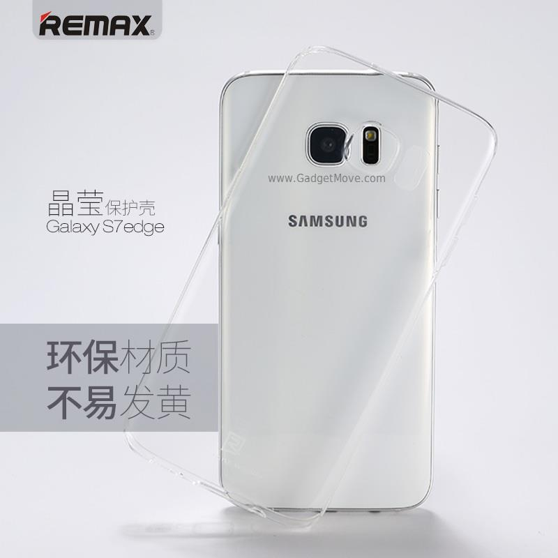 Remax Crystal Galaxy S7 / S7 Edge Ultra Thin Transparent Case Cover