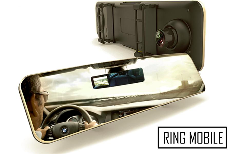 Remax CX-02 1080P Rear View Mirror Digital Video Recorder - Original