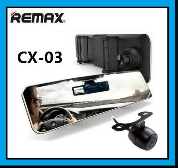 REMAX CX-03 DVR Mirror Car Dual Camera Dashcam Recorder 1080P Full HD