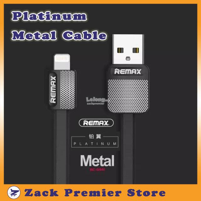 REMAX Platinum Metal Cable - 1 Meter