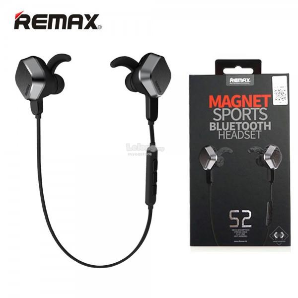 Remax RB-S5 RM-S2 Magnet Sports Bluetooth Headset Earphone Wireless