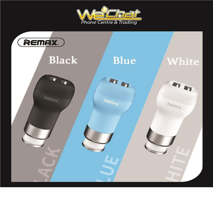 Remax RCC207 2 usb Port 2.4A Car-charger for Iphone Samsung NEW CAR