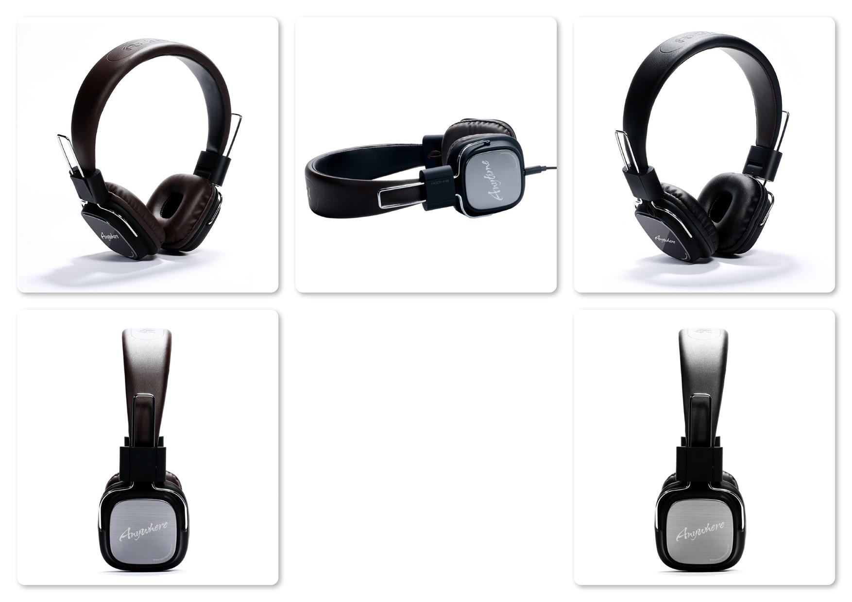Remax RM-100H Wired Leather HiFi Headset