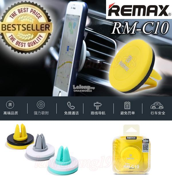 Remax RM-C10 Car phone holder aircon vent magnetic portable small