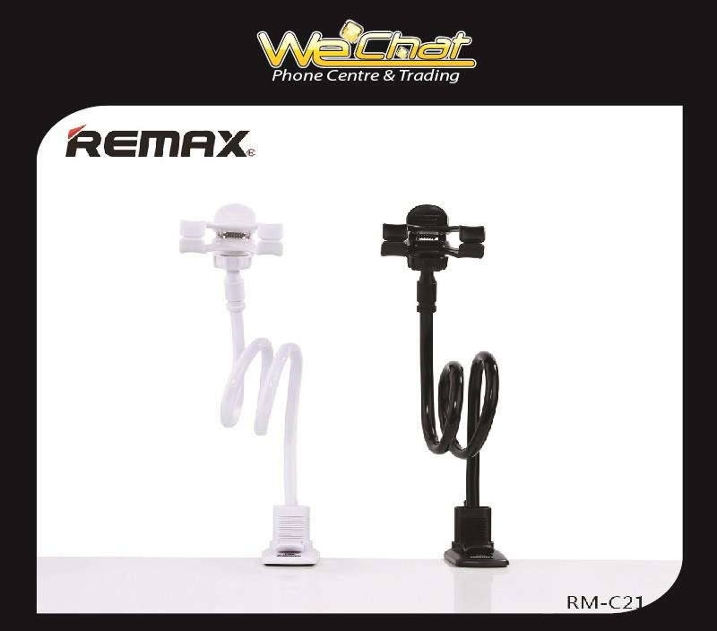 Remax RM-C21 Flexible Long Arm Lazy Bed Phone Clamp Holder Mount Stand