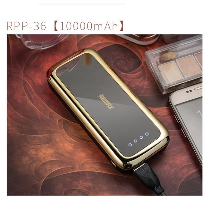 Remax RPP-36 Mirror Power Bank 10000mAh