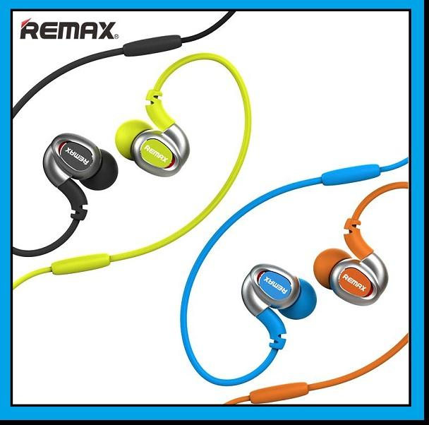 REMAX S1 Colorful In-ear Sport Hanging Hook Earphone Headset With Mic