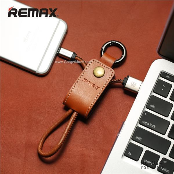 Remax Western KeyChain Key Chain Apple Lightning / Micro USB Cable