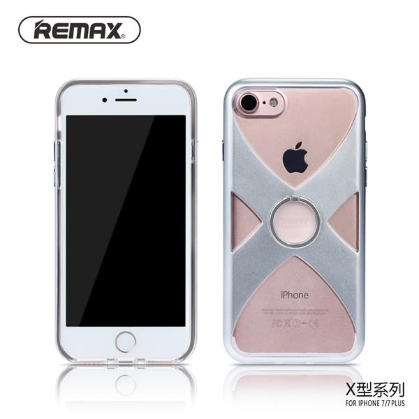 Remax X Series TPU PC iRing Case iPhone 7 Silver