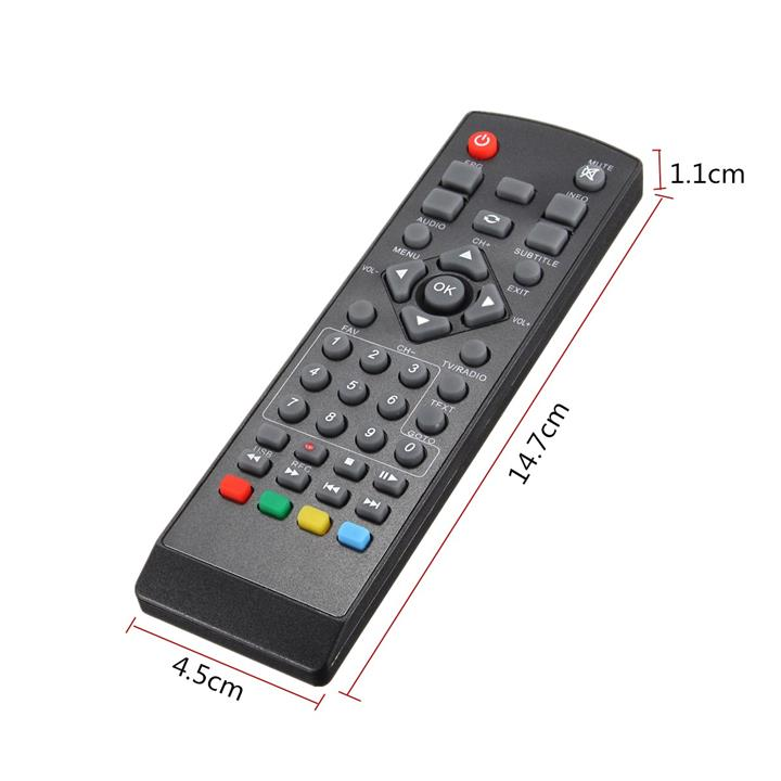 Remote Control for DVB-T2 / S2 MYTV DTT