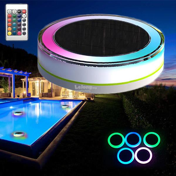Remote solar rgb led swimming pool end 11 26 2017 10 15 pm for Floating lights for swimming pool
