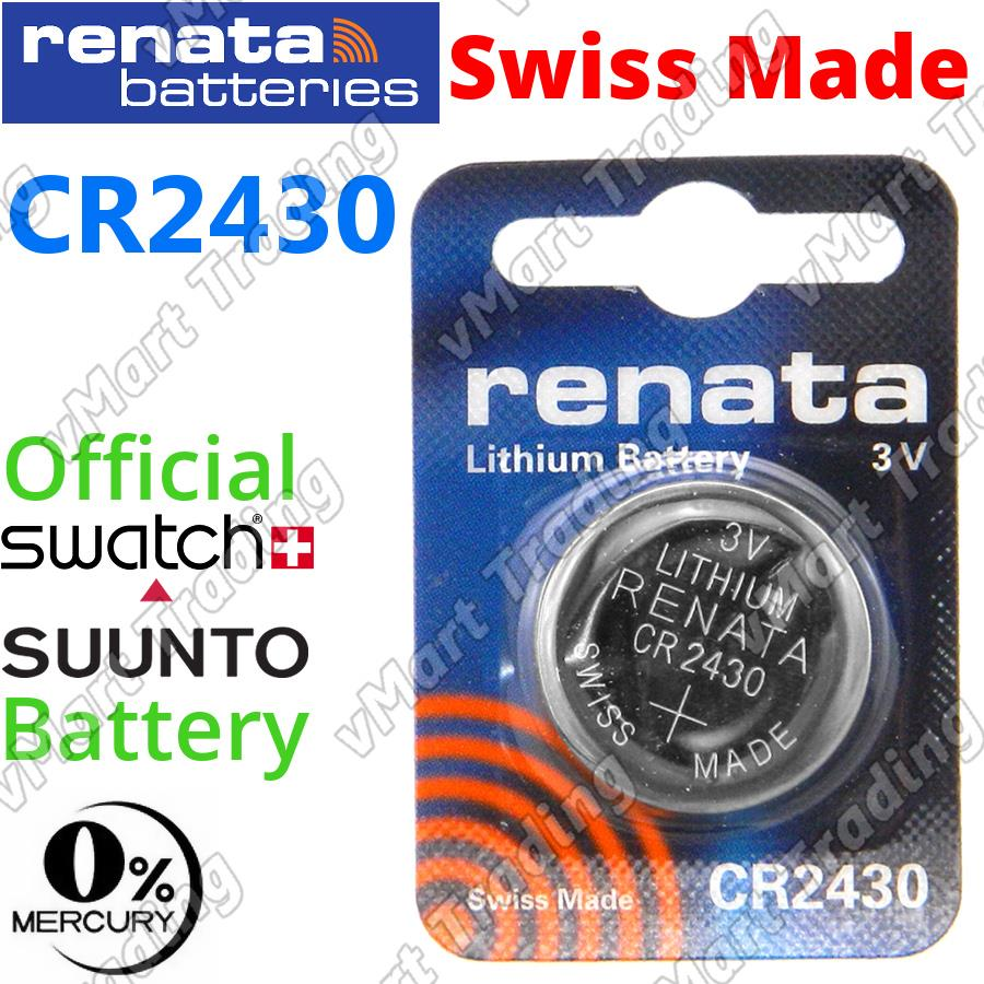RENATA CR2430 3V Lithium Cell Battery