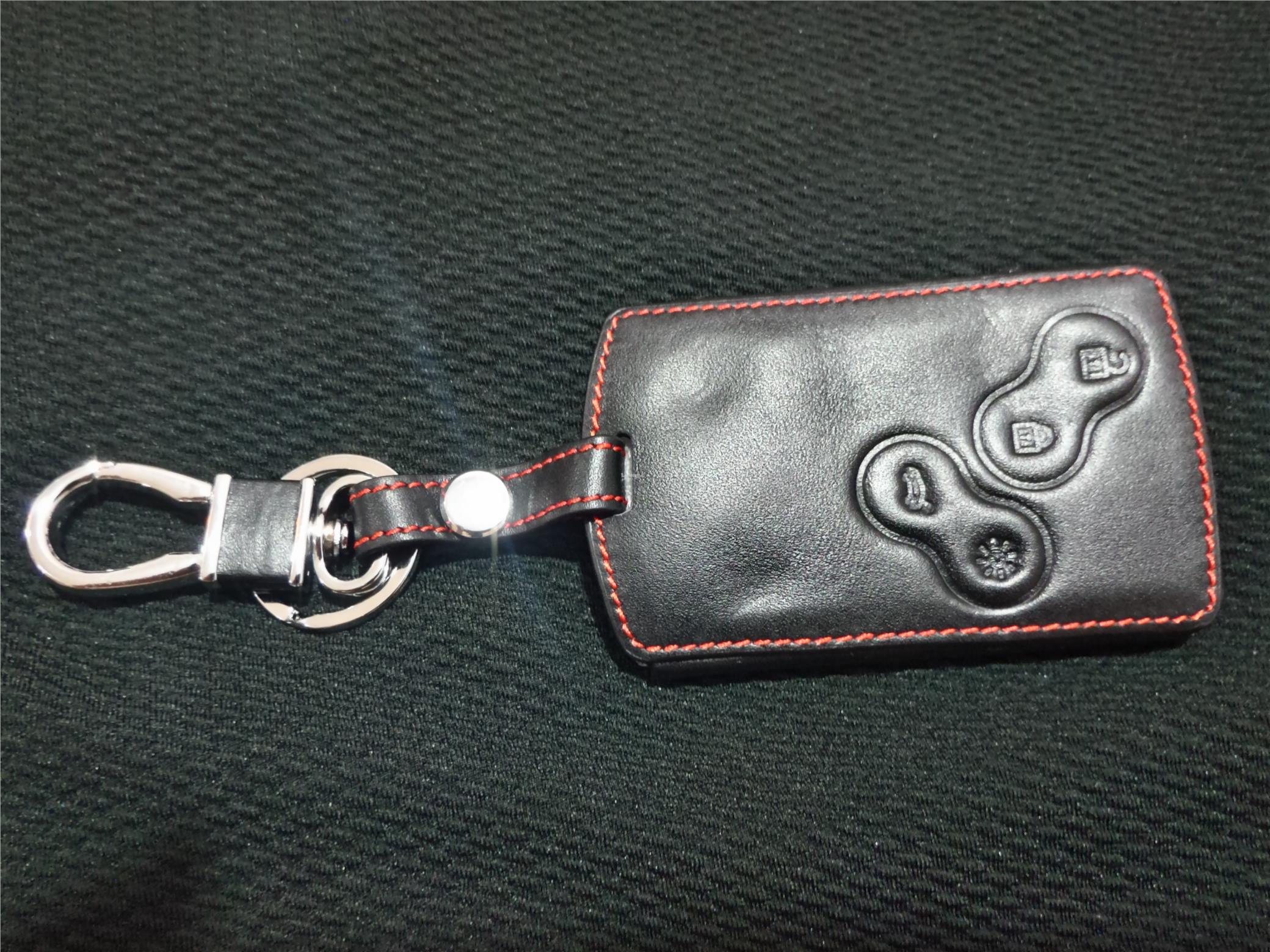 Renault Leather remote key case