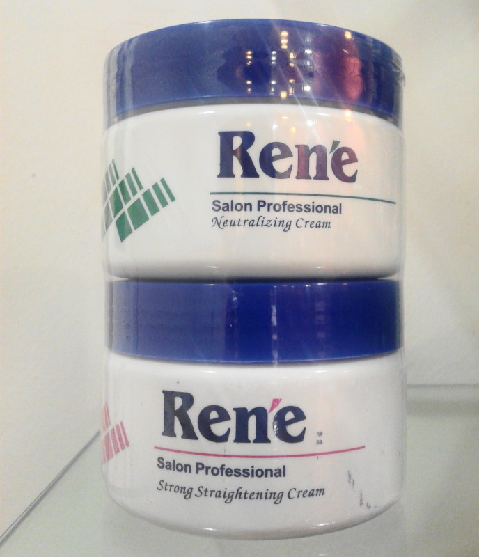 Rene Strong Straightening Cream + Neutralizer
