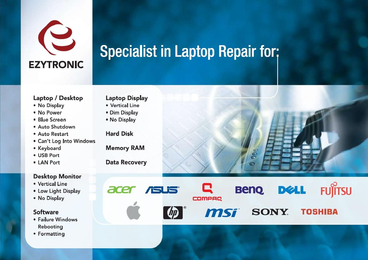 REPAIR LAPTOPS / NOTEBOOKS
