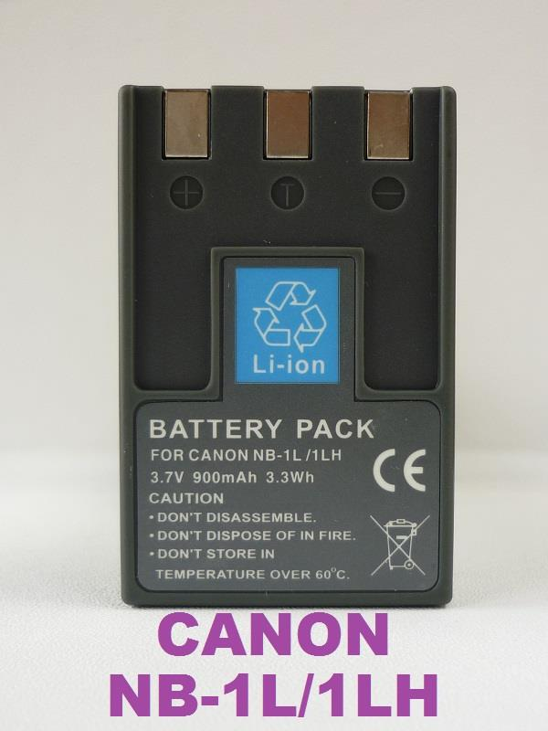 Replacement Battery for Canon NB-1LH/1L