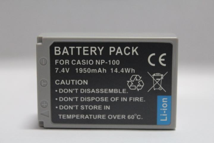 Replacement Battery for Casio CS NP-100