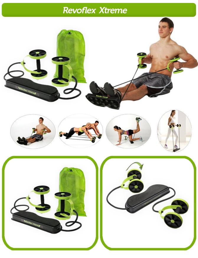 Resistance AB Wheel Roller / Revoflex Xtreme Workout Kit . Must have