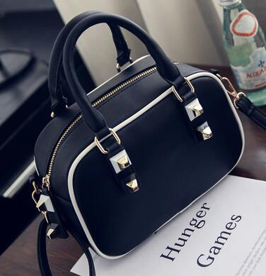 Retro shoulder bag mini - rivet handbag handbag Messenger bag