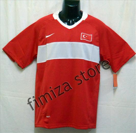 RETRO TURKEY HOME JERSEY EURO 2008 JERSEY (M SIZE)