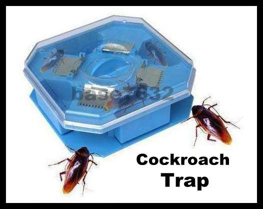 Reusable Cockroach Trapper Trap Catcher Tool Repeller Killer Bait