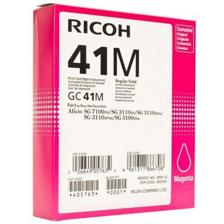 RICOH Printer Cartridge GC 41M (405763)