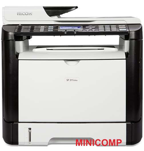 Ricoh SP 311SFNw Mono Laser Multifunction Printer