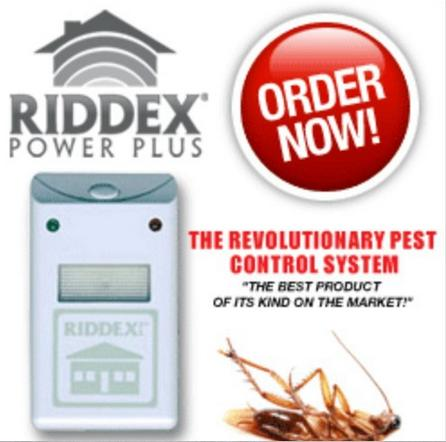 RIDDEX Pest control repellent Elektro Magnetic Ultrasonic  Electronic