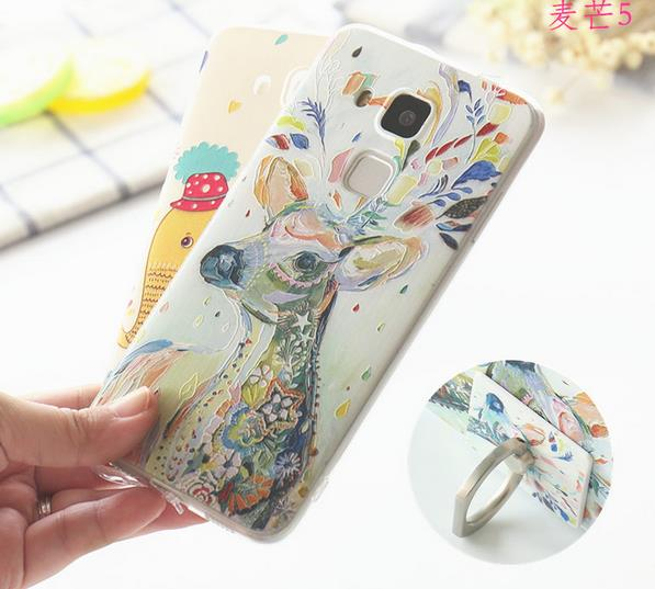 @Ring Huawei G9+ G9 Plus Back Case Cover Casing