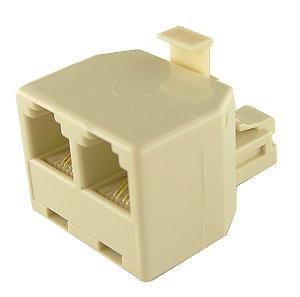 RJ11 TELEPHONE CABLE 2 WAY SPLITTER, F265
