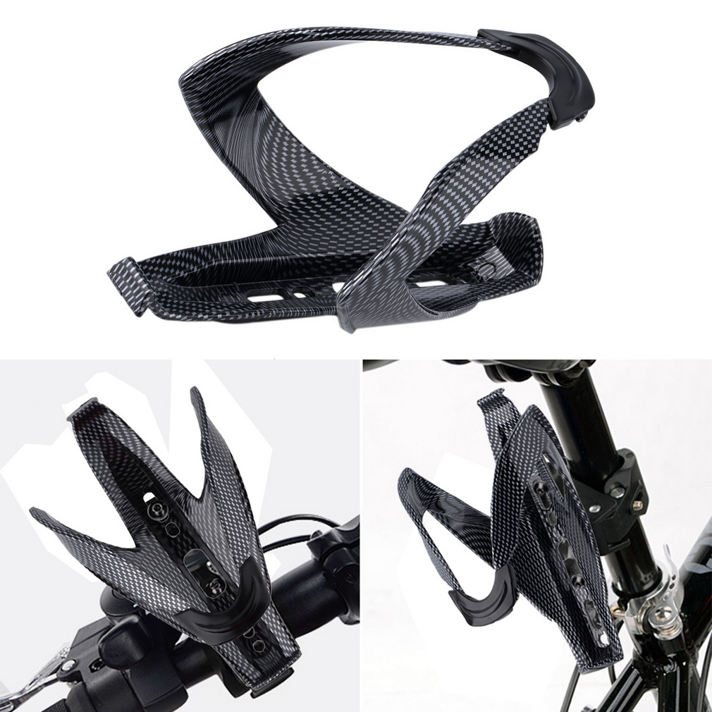 Road Mountain Bike Bicycle Cycling Road Glass Water Bottle Holder Cage
