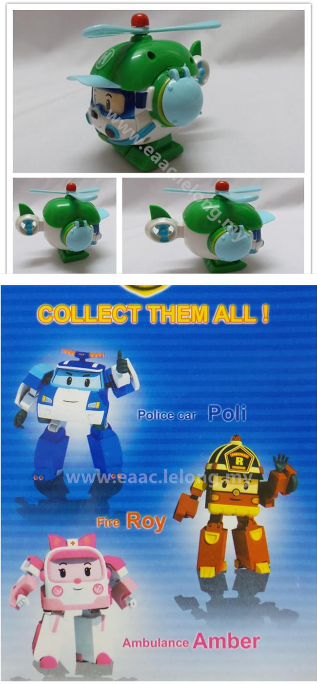 Robocar Helly (Helicopter) Transformer Korean Cartoon Toys