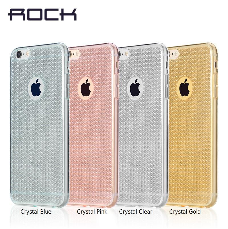 ROCK Fla Iphone 5S 5 SE 6 6+ 6S 6S+ Glitter Bling Shining Cover Case