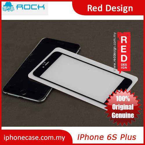 Rock Full Screen Tempered Glass for iPhone 6 Plus 5.5 - 0.3mm 2.5D Bla