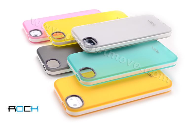 ROCK Joyful Free Series case for iPhone 5 TPU case Back Cover SGP
