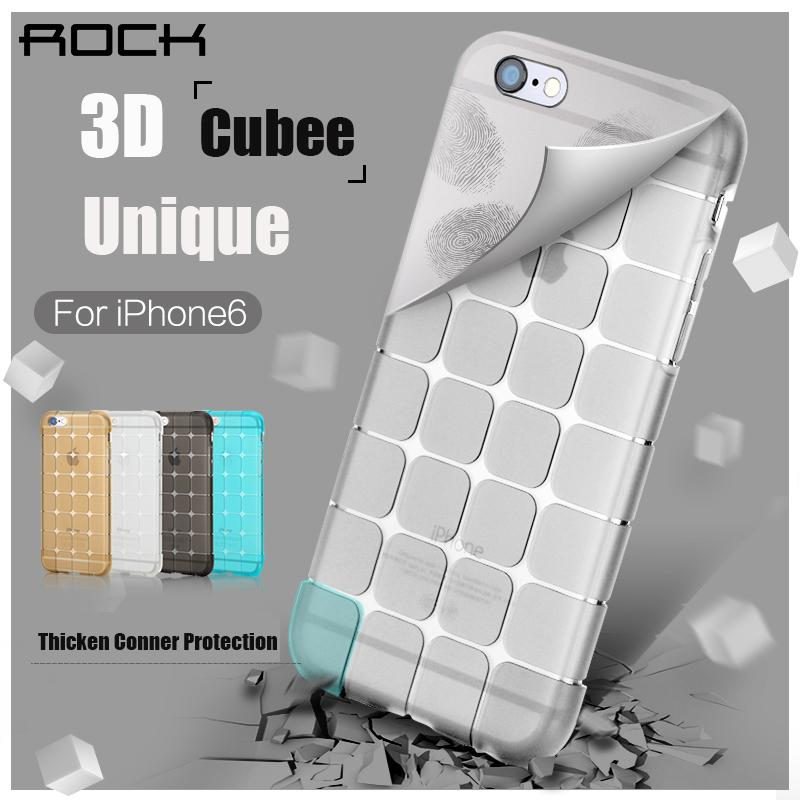 ROCK Magic Cubee iPhone 6 6+ 6S 6S+ Plus TPU Back Case Cover