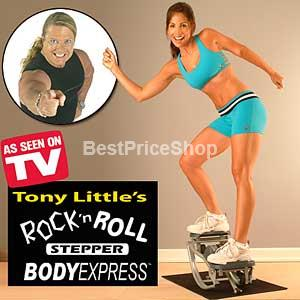Rock 'n Roll Stepper - Total Body Fat Burning (Best Stepper in USA)