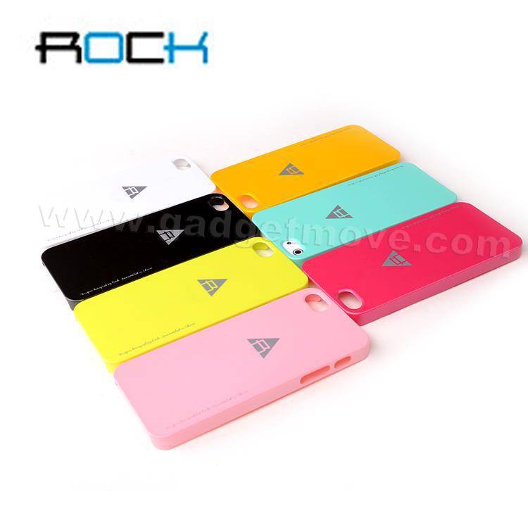 ROCK NEW Naked Shell for Apple iPhone 5 Case Back Cover SGP TPU