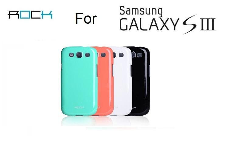 Rock Samsung Galaxy S3 SIII Case Shell Back Cover casing TPU Armour